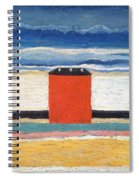 Red House, 1932 Oil On Canvas Spiral Notebook