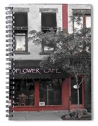 Red Is The Color Of The Day Spiral Notebook
