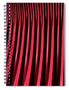 Red Lines Spiral Notebook