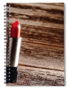 Red Lipstick Spiral Notebook