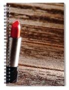 Red Lipstick Spiral Notebook