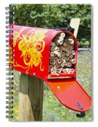 Red Mailbox Spiral Notebook
