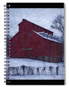 Red Mill Antique Barn Spiral Notebook