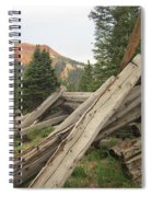 Red Mountain Ruins Spiral Notebook