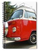 Red Nose Spiral Notebook