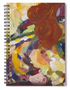Red Nude Spiral Notebook
