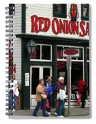 Red Onion Saloon Spiral Notebook