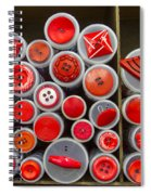 Red Palate Spiral Notebook