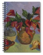 Red Pepper Spiral Notebook