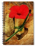 Red Petunia  Spiral Notebook