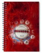 Red Phone For Emergencies Spiral Notebook