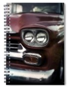 Red Pickup Spiral Notebook