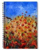 Red Poppies 562111 Spiral Notebook