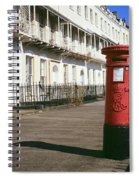 Red Postbox Spiral Notebook