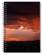 Red Rain Over Tana Spiral Notebook