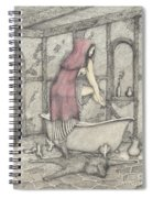 Red Riding Hood-one Month Later Spiral Notebook