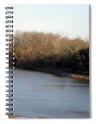 Red River Looking East Spiral Notebook