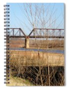 Red River Train Trussell Spiral Notebook