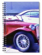 Red Roadster Spiral Notebook
