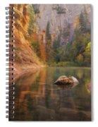 Red Rock Autumn Spiral Notebook