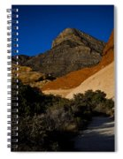 Red Rock Canyon At Dusk Spiral Notebook