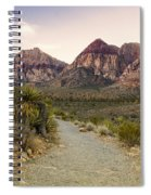 Red Rock Canyon Trailhead Spiral Notebook