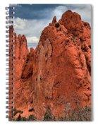 Red Rock Cluster Spiral Notebook