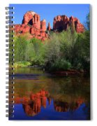 Red Rock Crossing Reflections Spiral Notebook