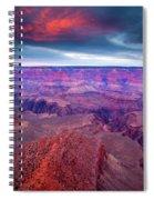 Red Rock Dusk Spiral Notebook