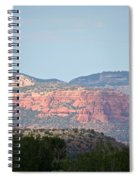 Red Rock Evening Spiral Notebook