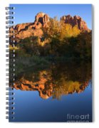Red Rock Reflections Spiral Notebook