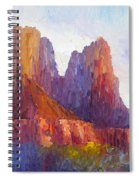 Red Rock Ridge Spiral Notebook