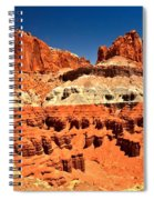 Red Rock Ridges Spiral Notebook