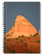 Red Rock Rising Spiral Notebook