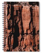 Red Rock Wall Spiral Notebook