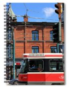 Red Rocket 15 Spiral Notebook
