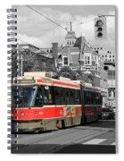 Red Rocket 18c Spiral Notebook