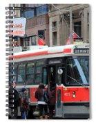 Red Rocket 3 Spiral Notebook