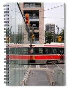 Red Rocket 37 Spiral Notebook