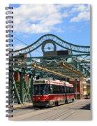 Red Rocket 5 Spiral Notebook