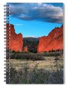 Red Rocks At Sunrise Spiral Notebook