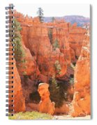 Red Rocks - Bryce Canyon Spiral Notebook