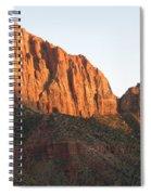 Red Rocks Of Zion Park Spiral Notebook