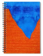Red Rocks Original Painting Spiral Notebook