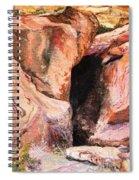 Red Rocks Spiral Notebook