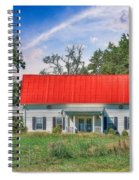 Red Roof Charm Spiral Notebook