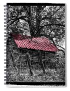 Red Roof Spiral Notebook