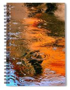 Red Roof Tile Reflection 29412 Spiral Notebook