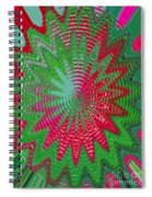 Red Rose Gone Awry Spiral Notebook