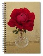 red rose III Spiral Notebook